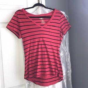 Op striped shirt